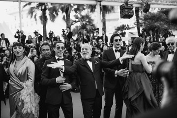 Jordi Molla Alternative View In Black & White - The 71st Annual Cannes Film Festival