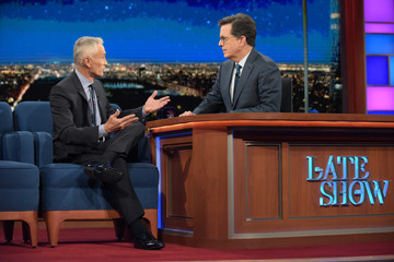 "Jorge Ramos CBS's ""The Late Show with Stephen Colbert"" - Season Two"