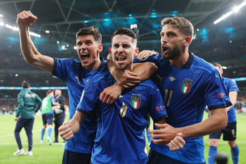 Jorginho European Best Pictures Of The Day - July 07