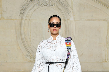 Jorja Smith Christian Dior: Photocall - Paris Fashion Week Womenswear Fall/Winter 2018/2019