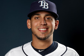 Jose De Leon Tampa Bay Rays Photo Day