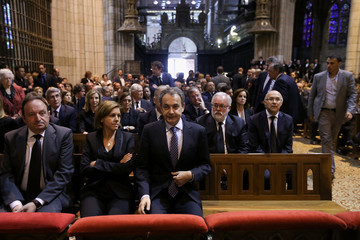 Jose Luis Rodriguez Zapatero Reactions to Isabel Carrasco's Death