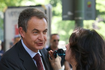 Jose Luis Rodriguez Zapatero Real Instituto Elcano Board Meeting