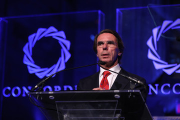 Jose Maria Aznar The 2016 Concordia Summit Convenes World Leaders to Discuss the Power of Partnerships - Awards Dinner