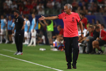 Jose Mourinho AC Milan vs. Manchester United - International Champions Cup 2018