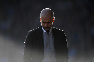 Josep Guardiola Huddersfield Town v Manchester City - The Emirates FA Cup Fifth Round
