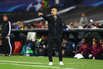 Josep Guardiola Feyenoord v Manchester City - UEFA Champions League
