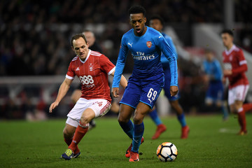 Joseph Willock Nottingham Forest v Arsenal - The Emirates FA Cup Third Round