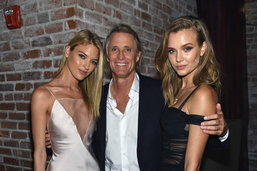 Josephine Skriver Martha Hunt Cindy Crawford, Ed Razek And Russell James Host Private Dinner Celebrating 'ANGELS' By Russell James Book Launch And Exhibit At TAO Downtown
