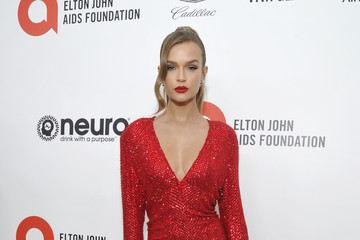 Josephine Skriver Neuro Brands Presenting Sponsor At The Elton John AIDS Foundation's Academy Awards Viewing Party