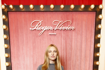 Josephine de La Baume Roger Viviver: Photocall - Press Day - Hotel Vivier - Paris Fashion Week - Womenswear Spring Summer 2020