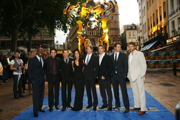 megan fox and shia labeouf transformers 2. Megan Fox and Josh Duhamel