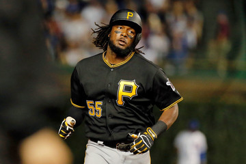 Josh Bell Pittsburgh Pirates v Chicago Cubs