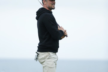 Josh Duhamel AT&T Pebble Beach Pro-Am - Round One
