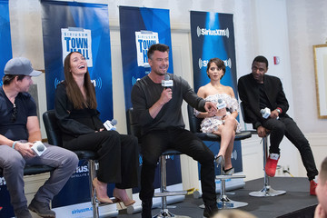 Josh Duhamel SiriusXM's 'Town Hall' With the Cast of 'Transformers: The Last Knight'