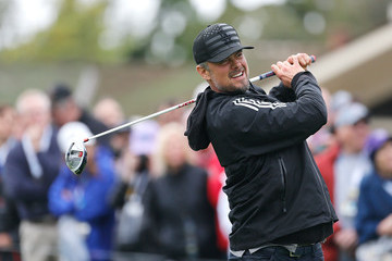 Josh Duhamel AT&T Pebble Beach National Pro-Am - Preview Day 3