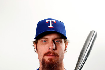 Josh Hamilton Texas Rangers Photo Day