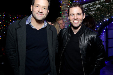 Josh Hopkins elit By Stolichnaya Celebrates Geoff Stults And Ari Sandel's Holiday Party