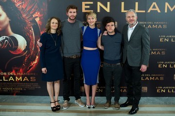 Josh Hutcherson Francis Lawrence 'The Hunger Games: Catching Fire' Madrid Photo Call — Part 2