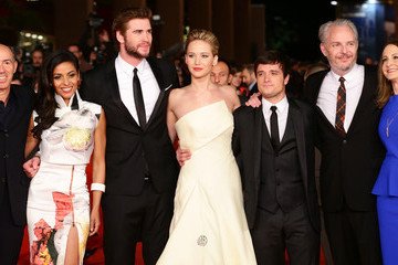 Josh Hutcherson Francis Lawrence 'The Hunger Games: Catching Fire' Premieres in Rome