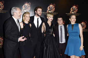 Josh Hutcherson Francis Lawrence 'The Hunger Games: Catching Fire' Premieres in Paris
