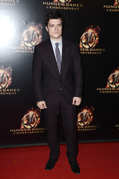 Josh Hutcherson - «The Hunger Games: Catching Fire» en première à Paris
