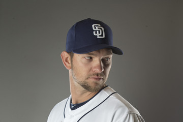 Josh Johnson San Diego Padres Photo Day