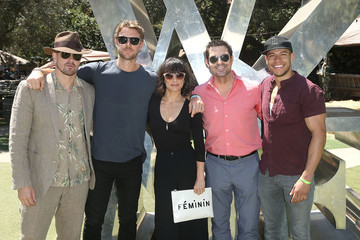Josh Kelly Lifetime's 'UnREAL' Cast and Producers Kickoff Summer on a Group Date at Malibu Wines Safari