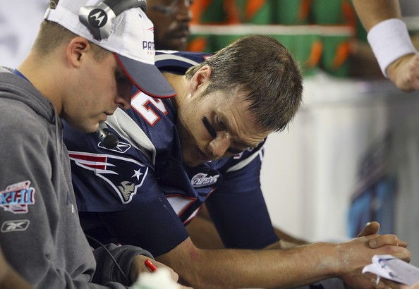 Josh McDaniels. Photo by Donald Miralle/Getty Images