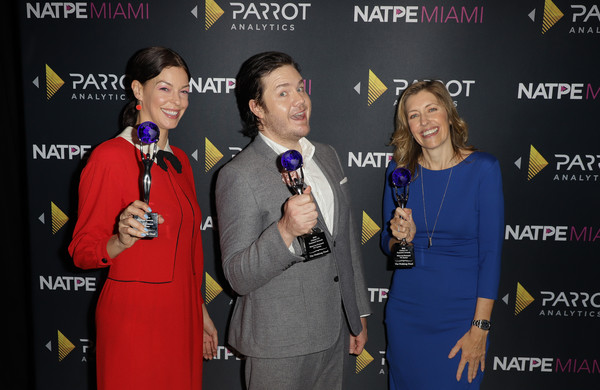 Parrot Analytics Presents The Global TV Demand Awards [parrot analytics presents the global tv demand awards,the walking dead,event,award ceremony,award,talent show,premiere,performance,mcintosh,denise huth,josh mcdermitt,global tv demand award,fontainebleau hotel,miami beach,florida]