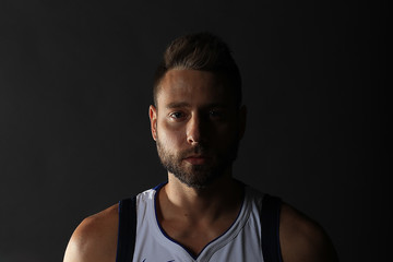 Josh McRoberts Dallas Mavericks Media Day