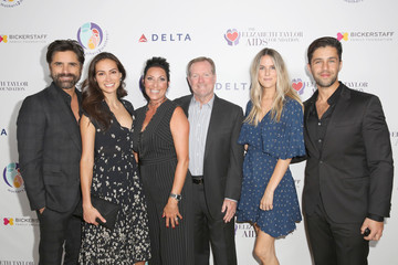 Josh Peck mothers2mothers and the Elizabeth Taylor AIDS Foundation Benefit Dinner at Ron Burkle's Green Acres Estate