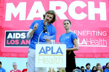 Josh Pence AIDS Walk Los Angeles 2019