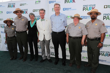 Joshua Laird Bill Nye, Questlove, Jewell at the National Park Foundation's Find Your Park Event, Celebrating for National Park Service Centennial