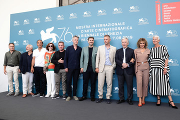 Josiane Pinson Michèle Ray-Gavras 'Adults In The Room' Photocall - The 76th Venice Film Festival