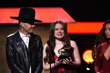 Joy Huerta The 59th GRAMMY Awards - GRAMMY Pre-Telecast