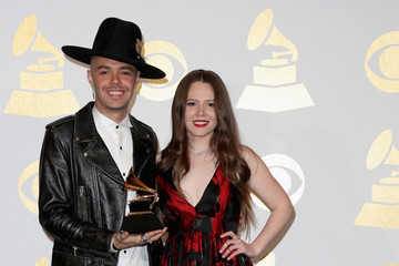 Joy Huerta The 59th GRAMMY Awards - Press Room