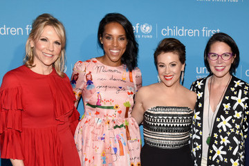 Joyce Goss Children First. An Evening With Unicef Honor Alyssa Milano, Pier 1 Imports' And Sterling McDavid