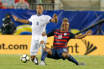 Juan Agudelo United States v Martinique: Group B - 2017 CONCACAF Gold Cup
