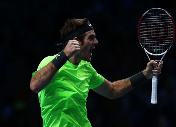 Juan Martin Del Potro - ATP World Tour Finals - Day Six