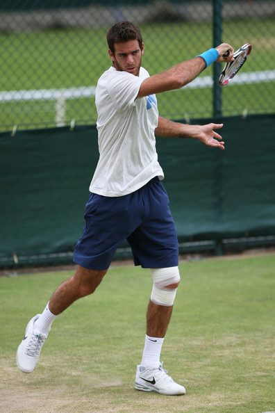 how to hit a forehand like del potro
