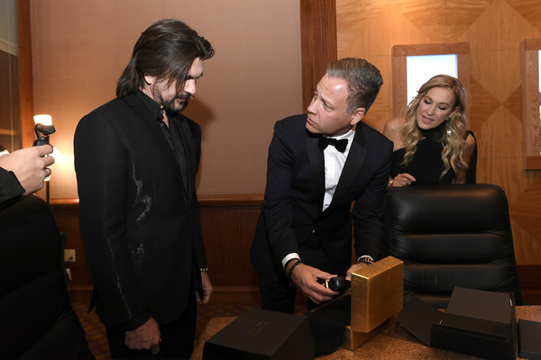 The 20th Annual Latin GRAMMY Awards – Person Of The Year Gala – Bulova Watch Gifting [event,suit,tuxedo,formal wear,businessperson,juanes,person of the year gala,michael benavente,latin grammy awards,bulova watch gifting,las vegas,nevada,latin recording academy,gala,person of the year]