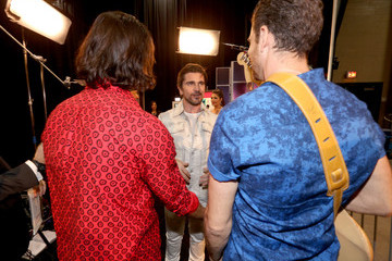 Juanes Backstage at the Latin Grammy Awards