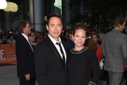 Actor Robert Downey Jr. (L) and producer Susan Downey attend 'The Judge' gala premiere during the 2014 Toronto International Film Festival at Roy Thomson Hall on September 4, 2014 in Toronto, Canada.