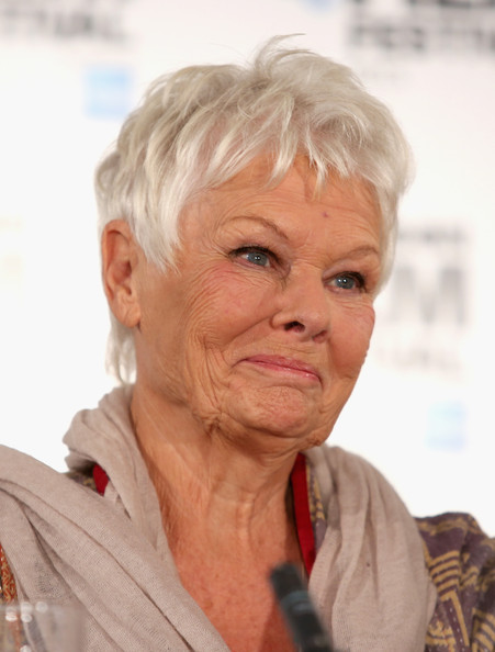Judi Dench Hairstyle Instructions | Short Hairstyle 2013