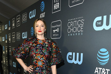 Judy Greer Claire Foy Accepts The #SeeHer Award At The 24th Annual Critics' Choice Awards
