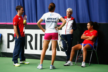 Judy Murray Heather Watson Fed Cup Europe/Africa Group One: Previews