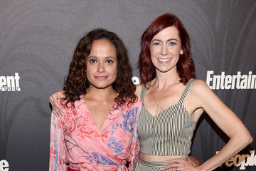 Judy Reyes Carrie Preston Entertainment Weekly & People New York Upfronts Party 2018 - Arrivals