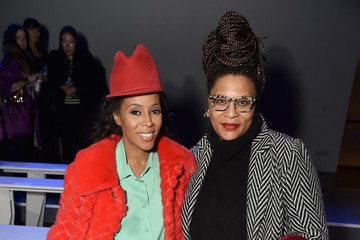Julee Wilson Laquan Smith - Front Row - February 2018 - New York Fashion Week: The Shows