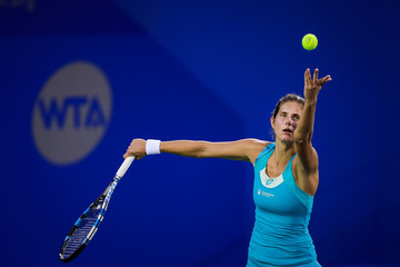 Julia Goerges 2017 Wuhan Open - Day 2